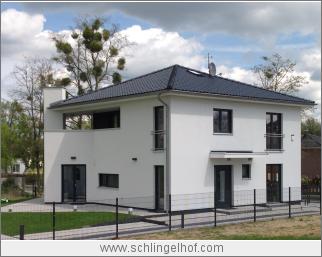 Moderne Villa, frei geplantes Architektenhaus