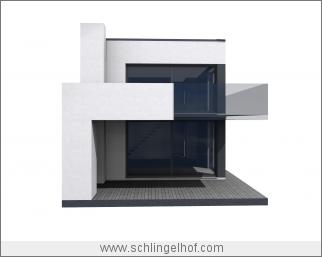 Villa im Bauhausstil, Erkner, Dämeritzsee - Vorentwurf